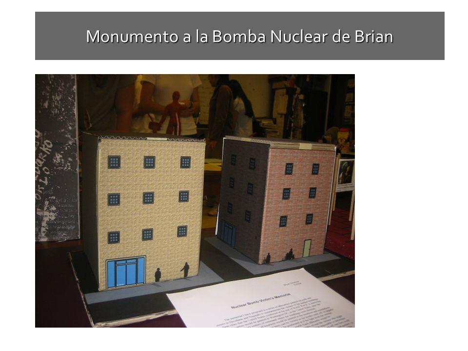 Monumento a la Bomba Nuclear de Brian