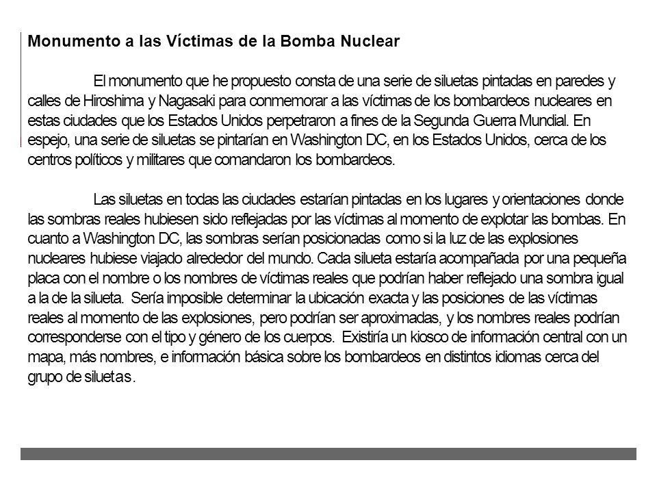 Monumento a las Víctimas de la Bomba Nuclear