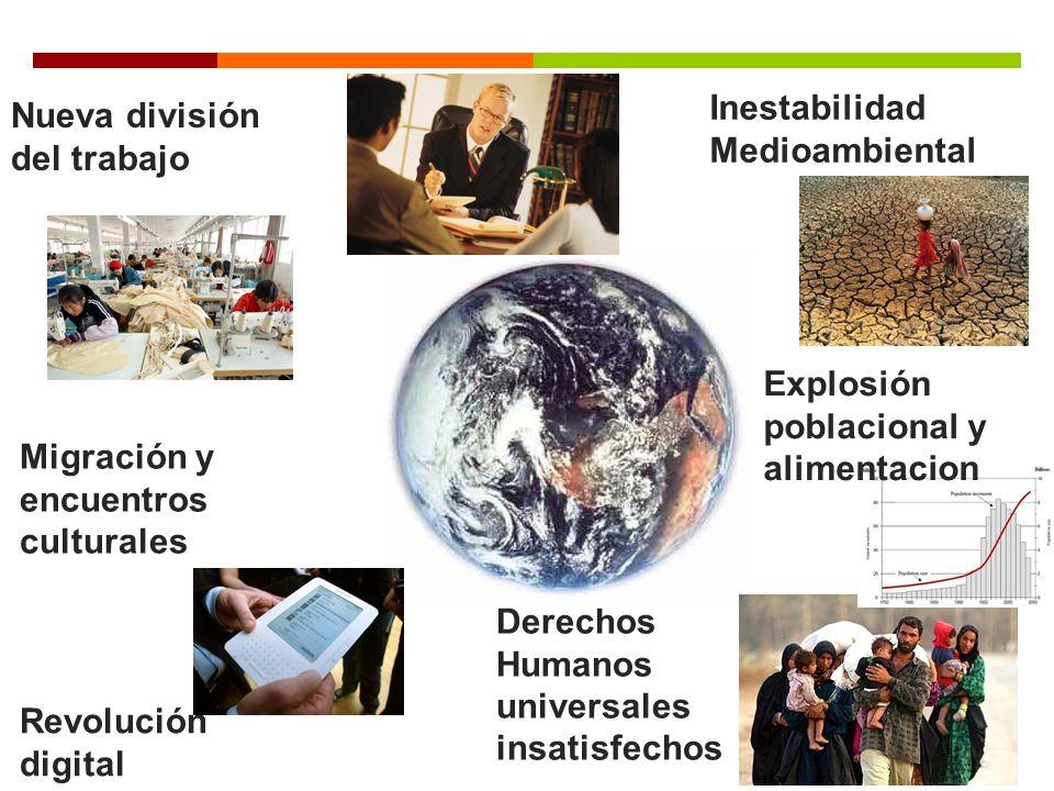 Inestabilidad Medioambiental Nueva división del trabajo