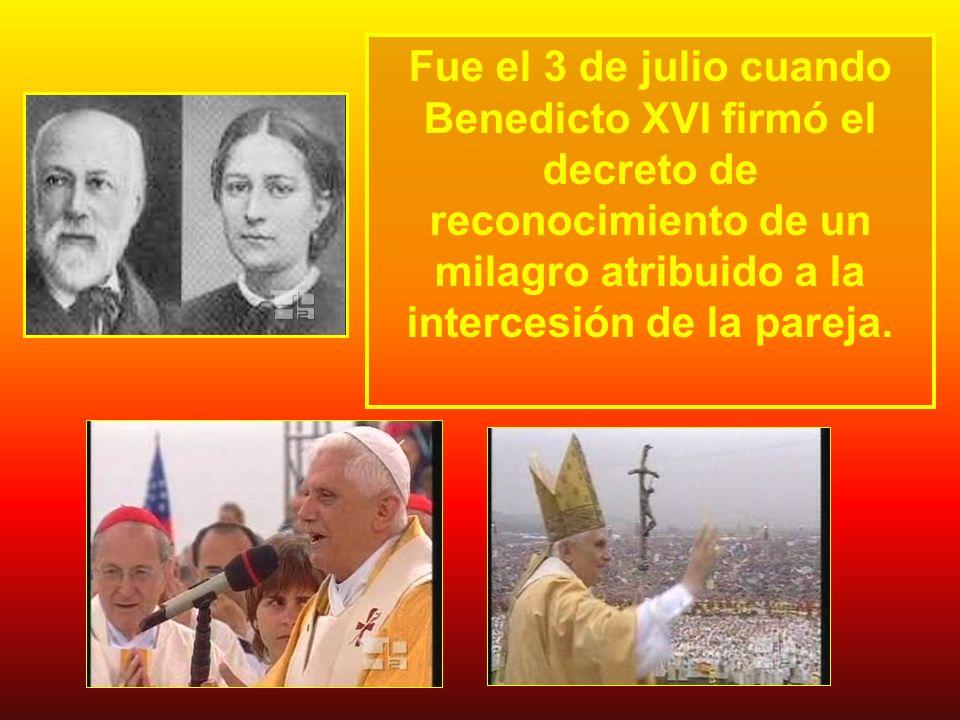 Fue el 3 de julio cuando Benedicto XVI firmó el decreto de