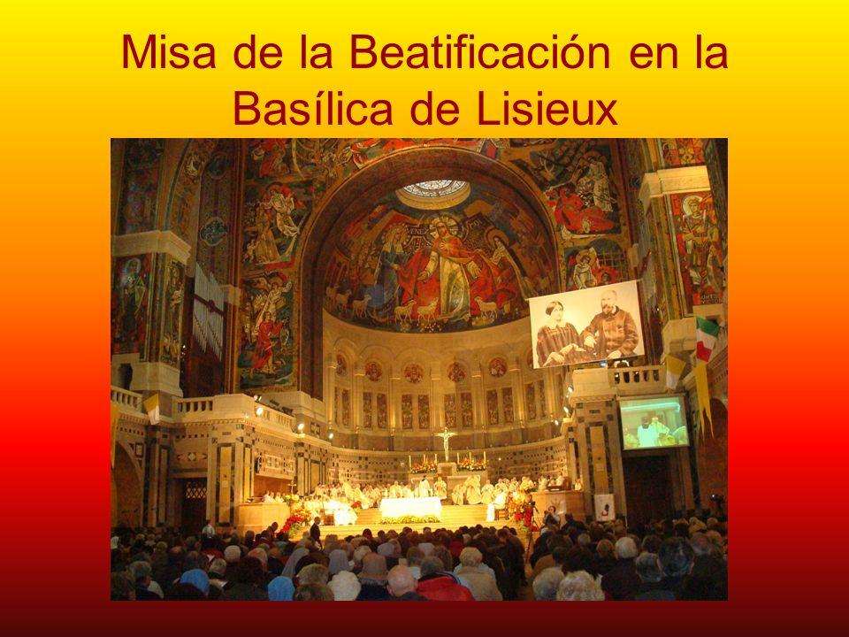 Misa de la Beatificación en la Basílica de Lisieux