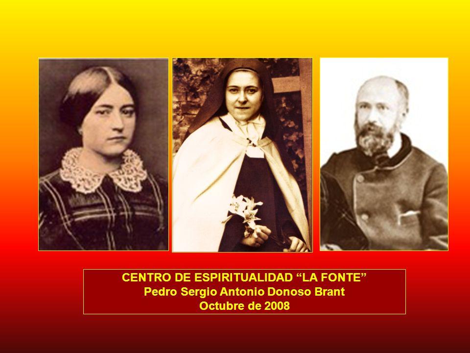 CENTRO DE ESPIRITUALIDAD LA FONTE Pedro Sergio Antonio Donoso Brant