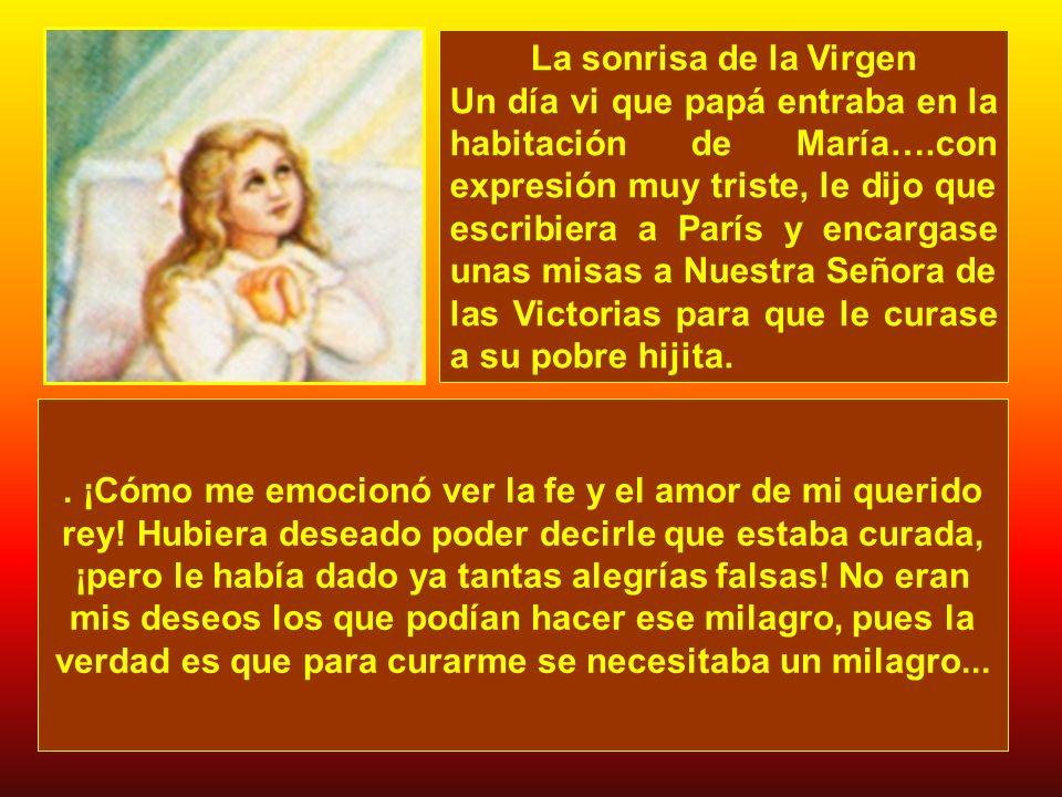 La sonrisa de la Virgen