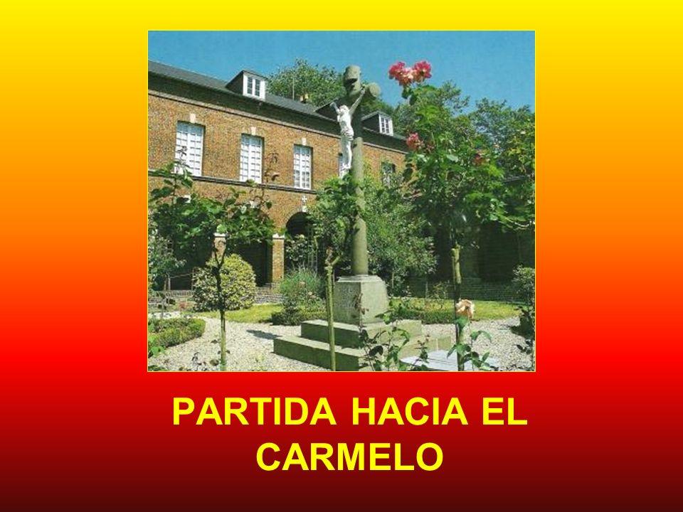 PARTIDA HACIA EL CARMELO