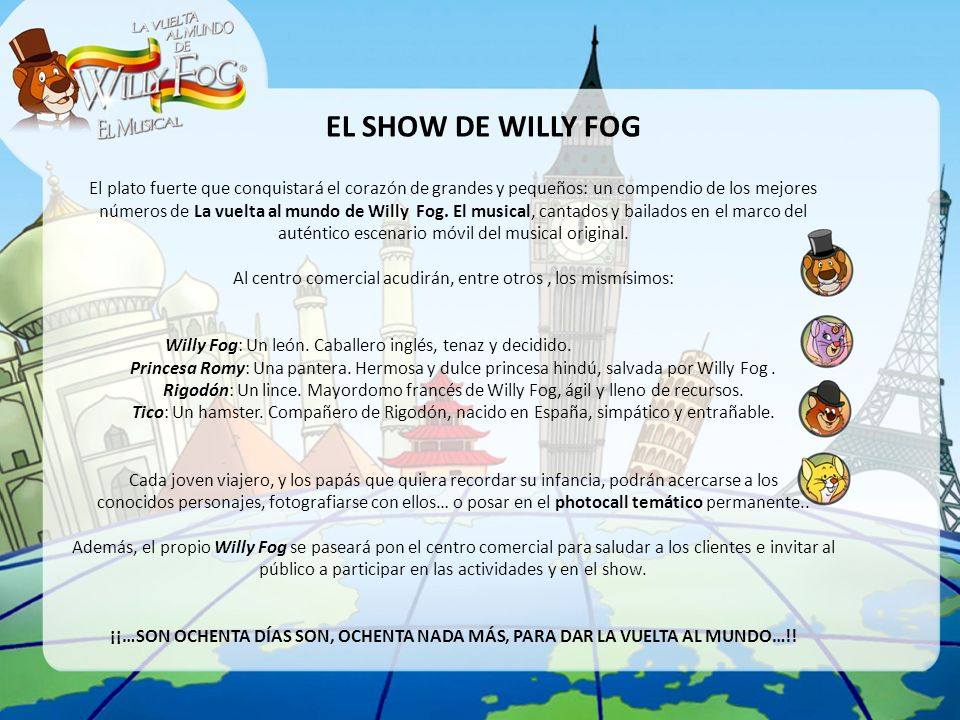 EL SHOW DE WILLY FOG