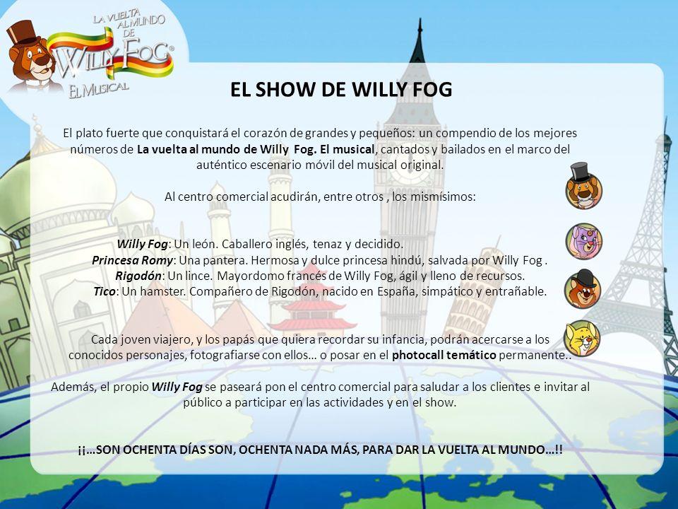 EL SHOW DE WILLY FOG