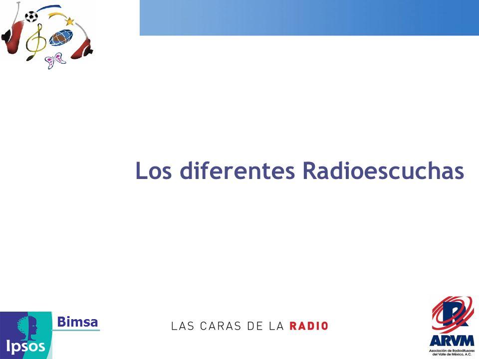 Los diferentes Radioescuchas