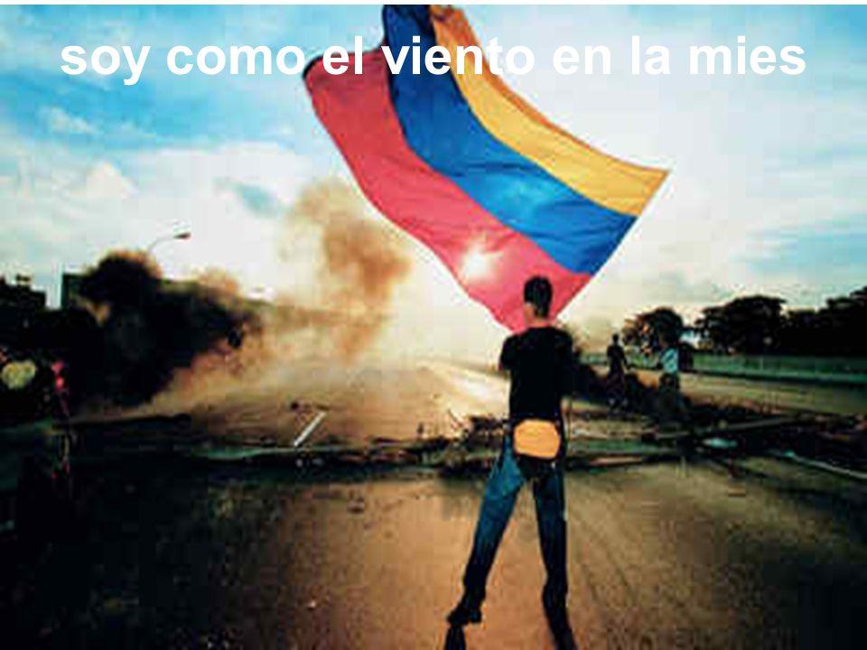 soy como el viento en la mies