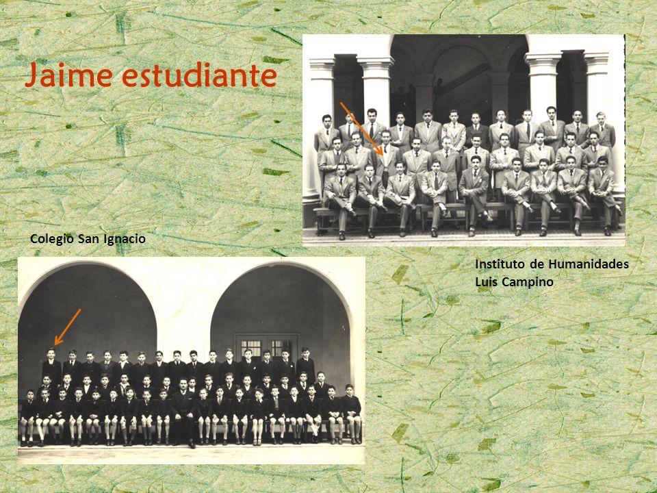 Jaime estudiante Colegio San Ignacio Instituto de Humanidades
