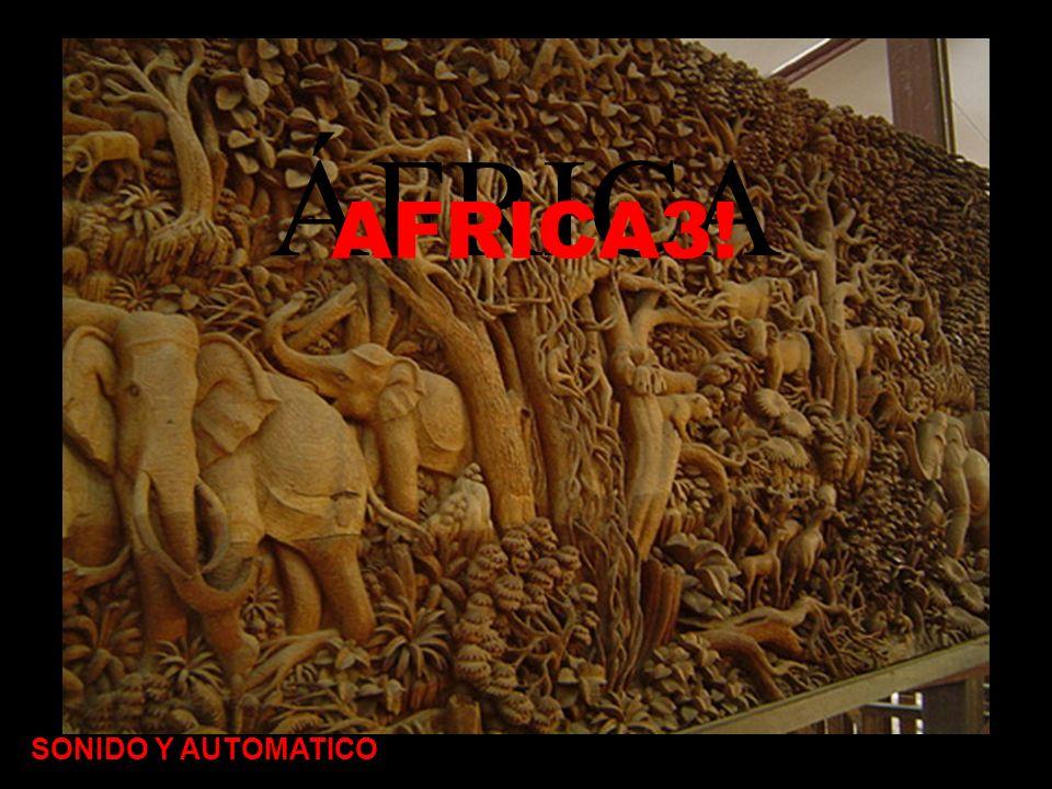 ÁFRICA AFRICA3! SONIDO Y AUTOMATICO