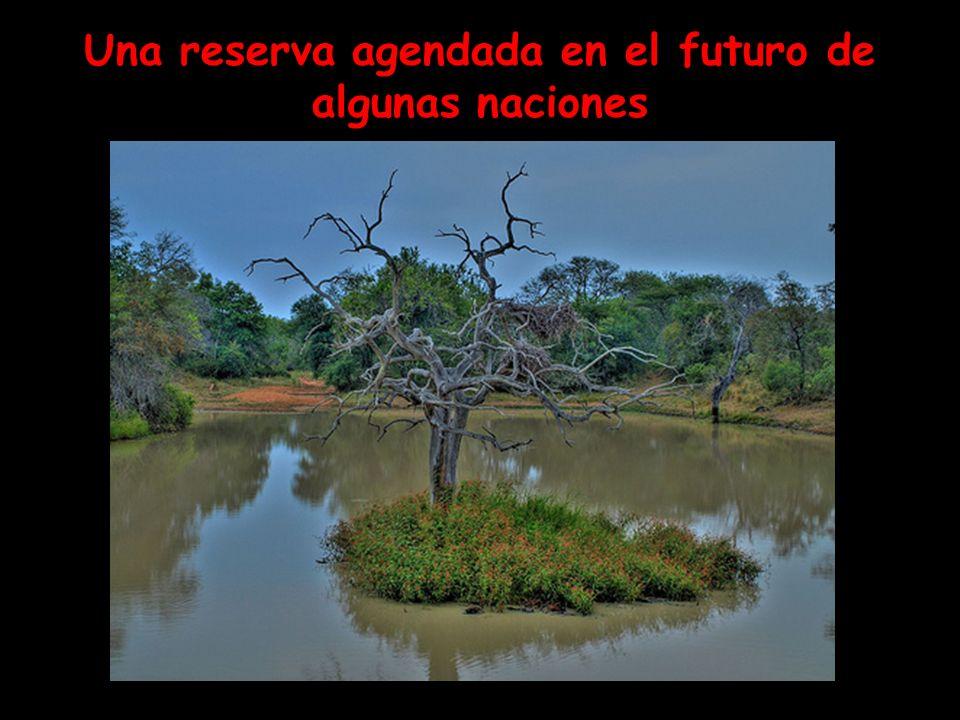 Una reserva agendada en el futuro de algunas naciones