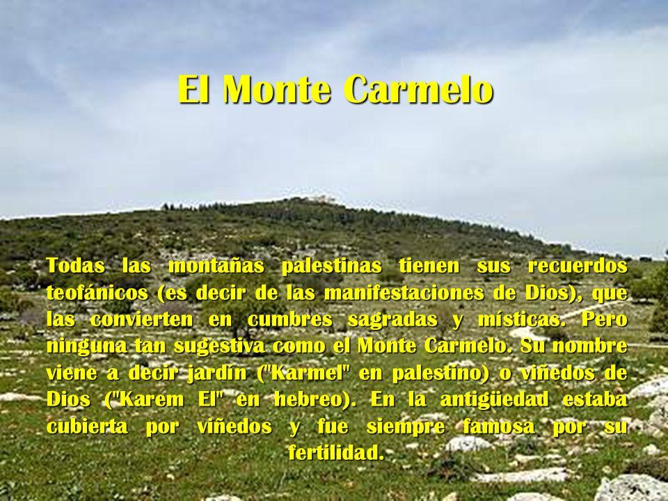 El Monte Carmelo
