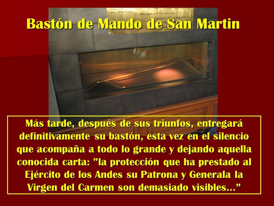 Bastón de Mando de San Martin