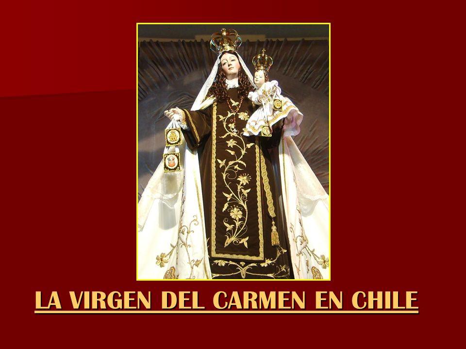LA VIRGEN DEL CARMEN EN CHILE