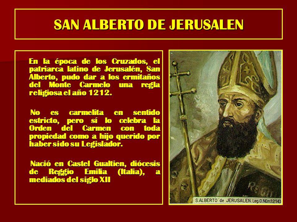 SAN ALBERTO DE JERUSALEN