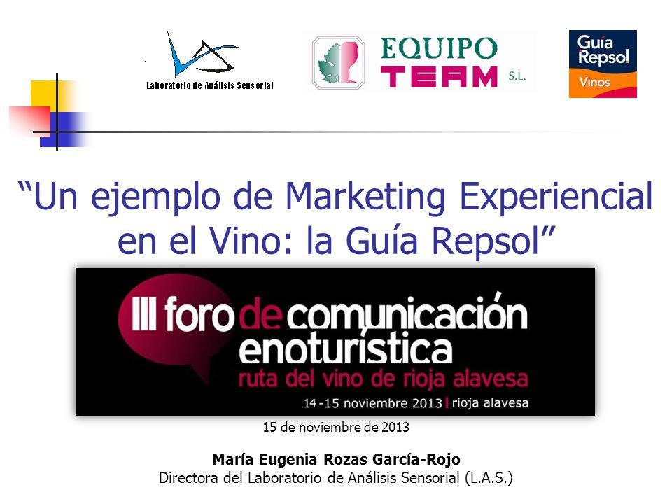 Un ejemplo de Marketing Experiencial en el Vino: la Guía Repsol