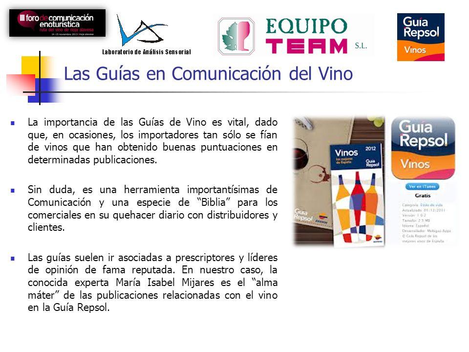 Las Guías en Comunicación del Vino