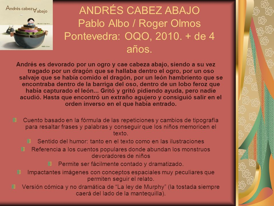 ANDRÉS CABEZ ABAJO Pablo Albo / Roger Olmos Pontevedra: OQO, 2010