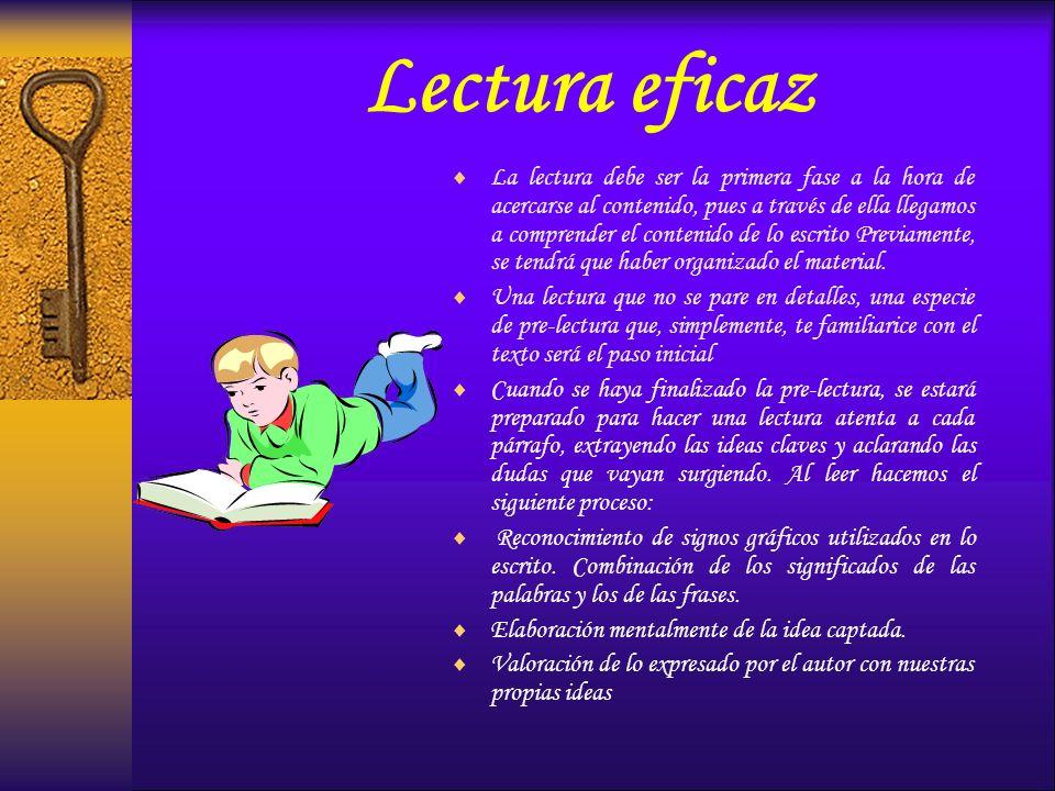 Lectura eficaz