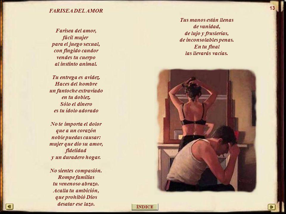 13 FARISEA DEL AMOR.