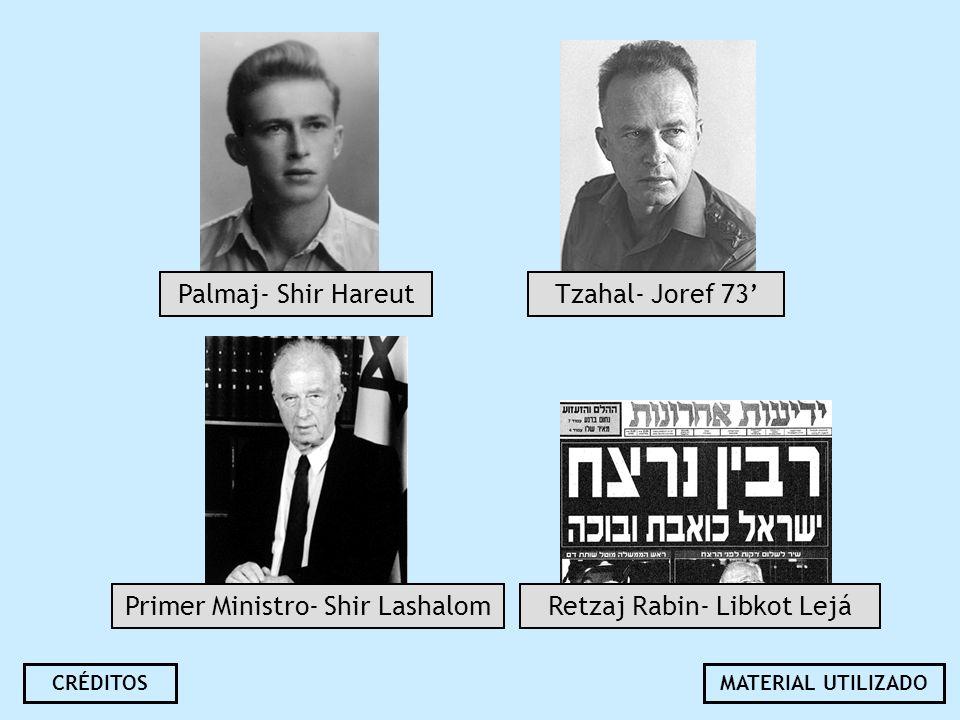 Primer Ministro- Shir Lashalom Retzaj Rabin- Libkot Lejá