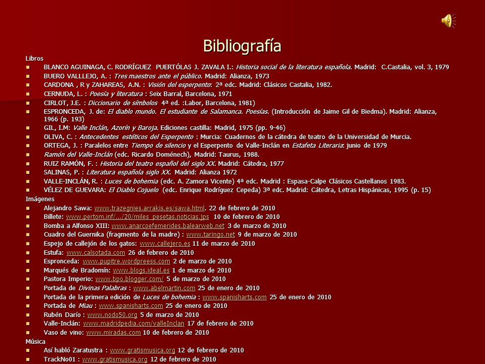 BibliografíaLibros.