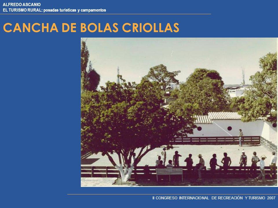 CANCHA DE BOLAS CRIOLLAS