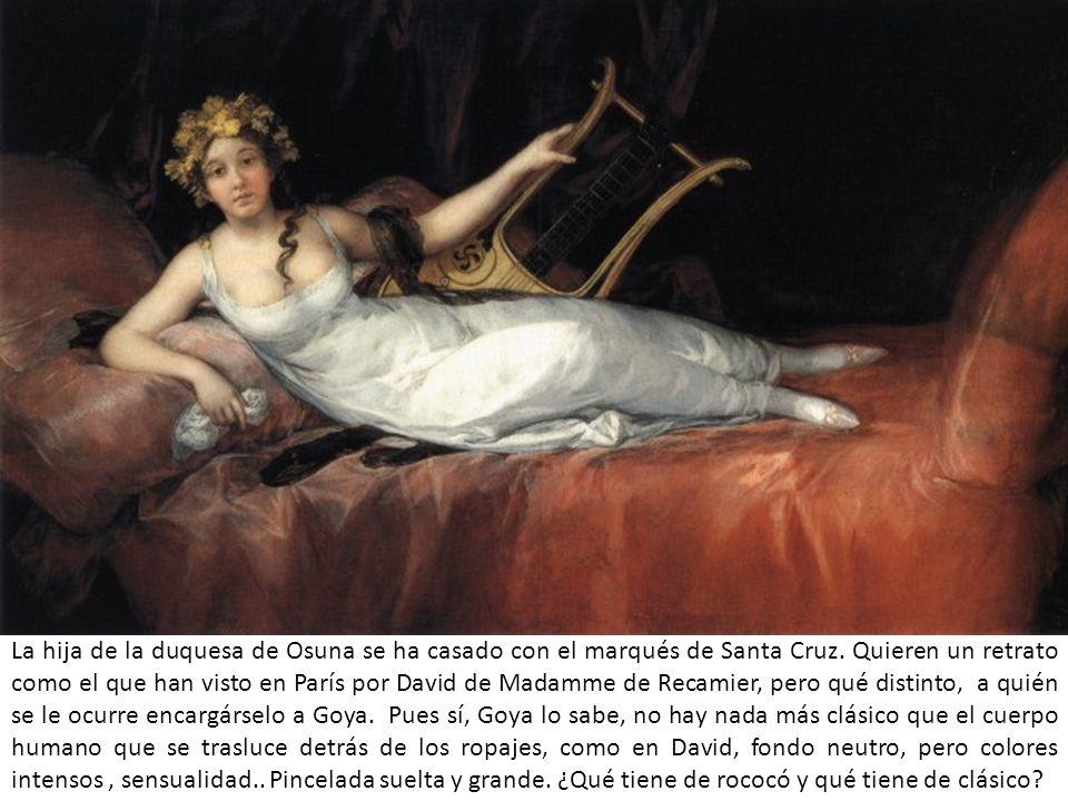 La hija de la duquesa de Osuna se ha casado con el marqués de Santa Cruz.