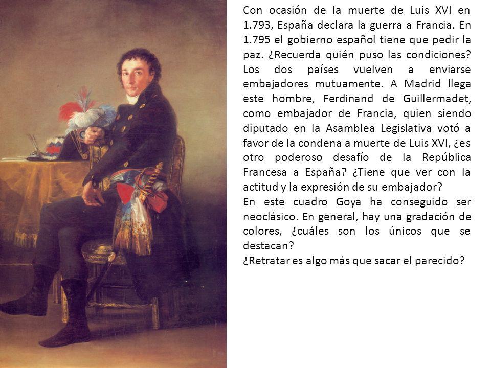 Con ocasión de la muerte de Luis XVI en 1