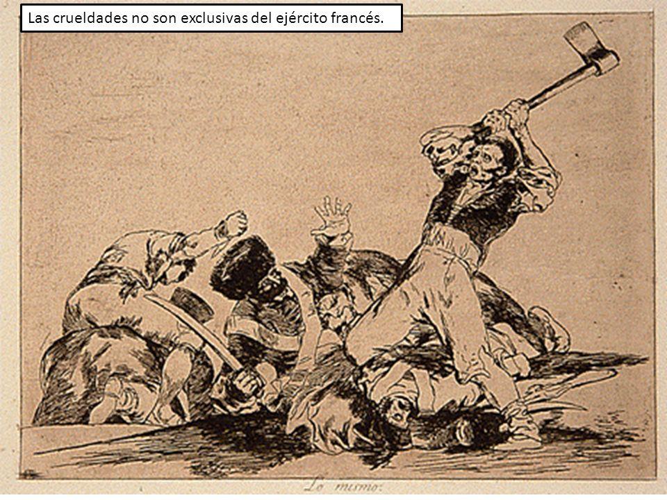 Las crueldades no son exclusivas del ejército francés.