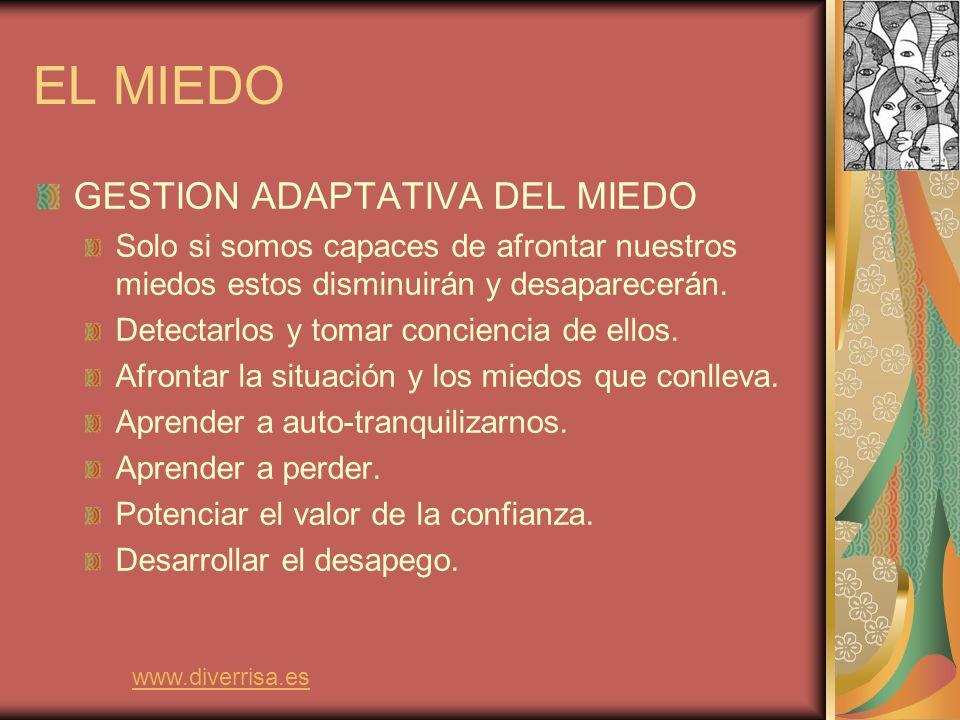 EL MIEDO GESTION ADAPTATIVA DEL MIEDO