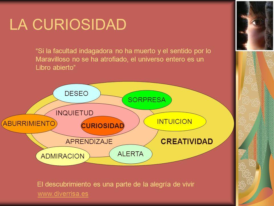LA CURIOSIDAD CREATIVIDAD