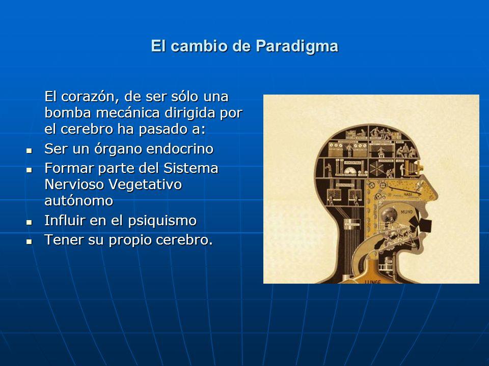 El cambio de Paradigma Ser un órgano endocrino