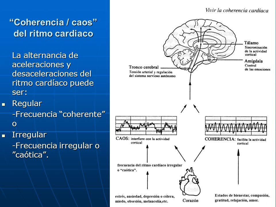 Coherencia / caos del ritmo cardiaco