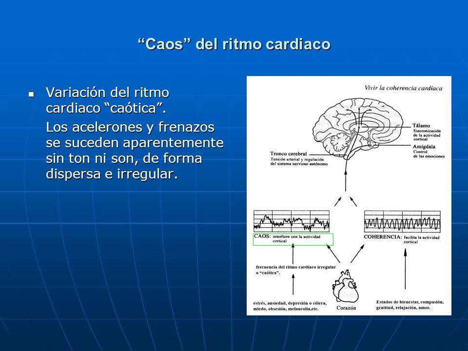 Caos del ritmo cardiaco