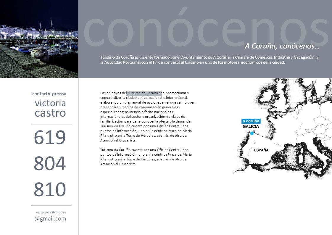 conócenos 619 804 810 castro victoria A Coruña, conócenos… @gmail.com