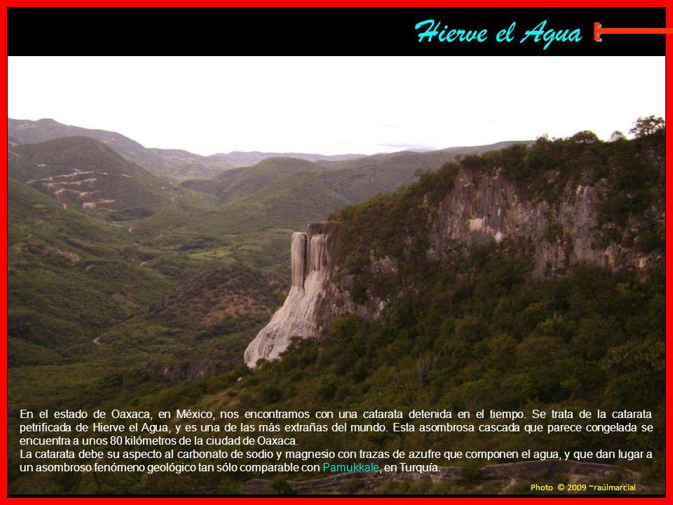 Hierve el AguaE.