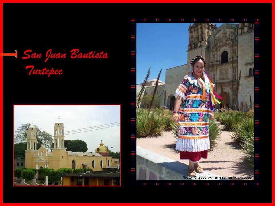 San Juan Bautista Tuxtepec E Photo © 2008 por artesaniashuaxyacac