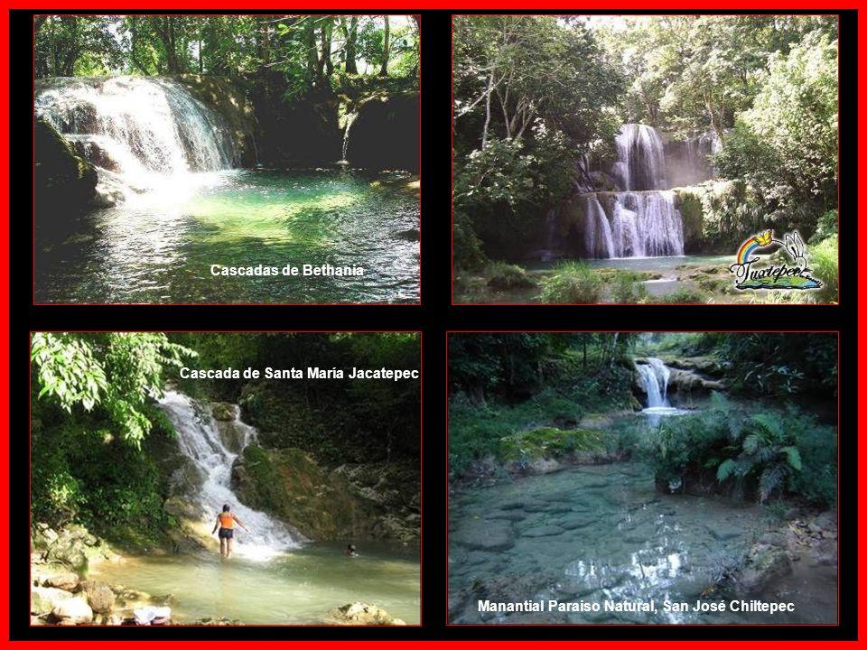 Cascadas de Bethania Cascada de Santa María Jacatepec Manantial Paraiso Natural, San José Chiltepec