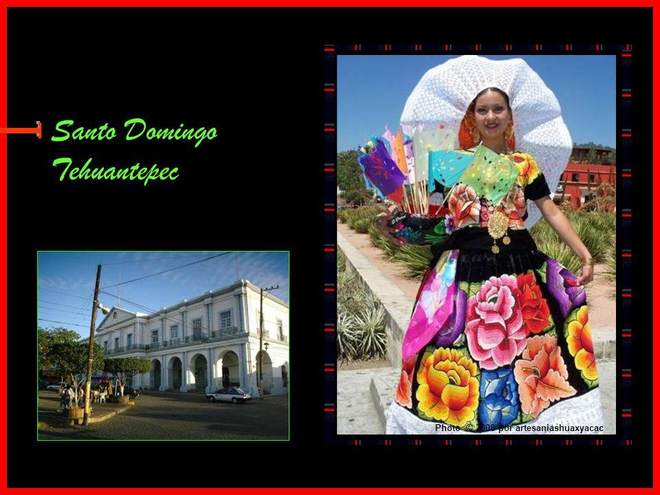 Santo Domingo Tehuantepec E Photo © 2008 por artesaniashuaxyacac