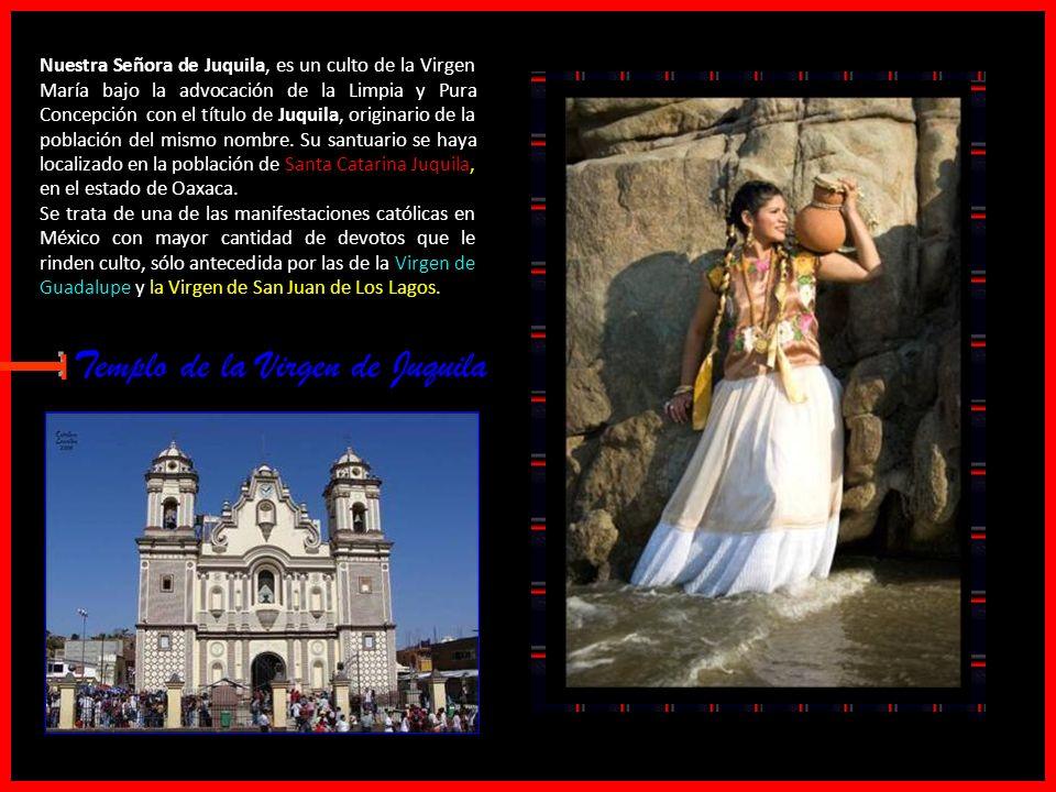 E Templo de la Virgen de Juquila Traje Típico