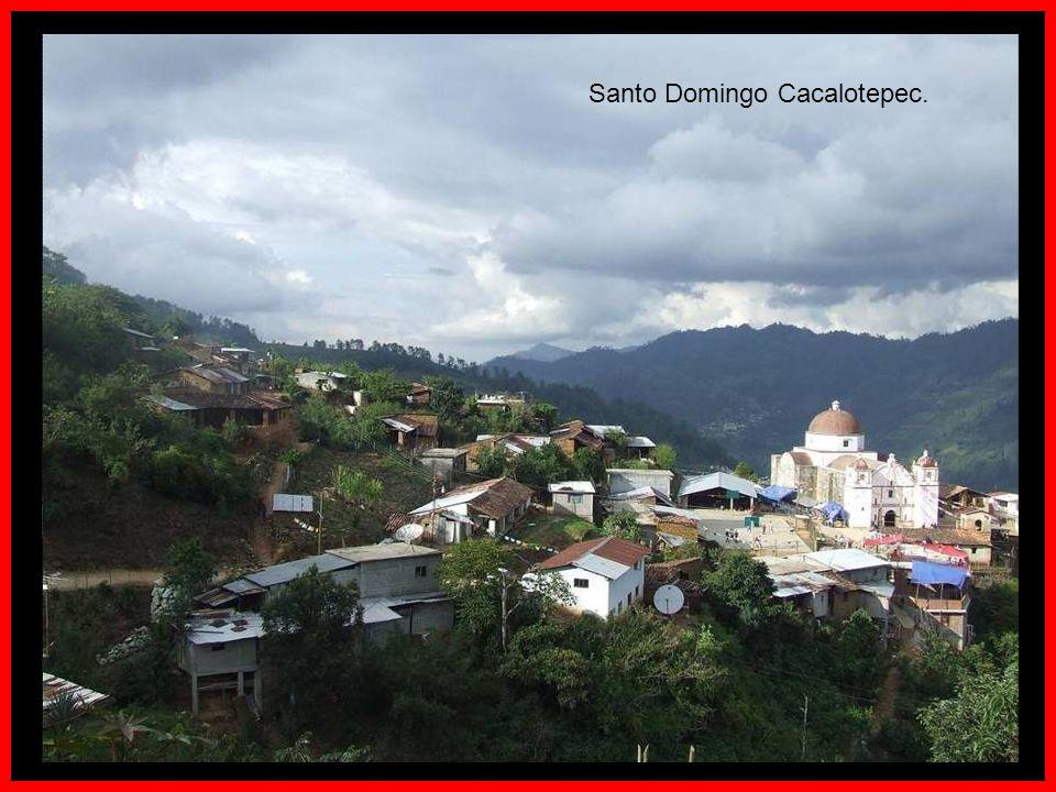 Santo Domingo Cacalotepec.