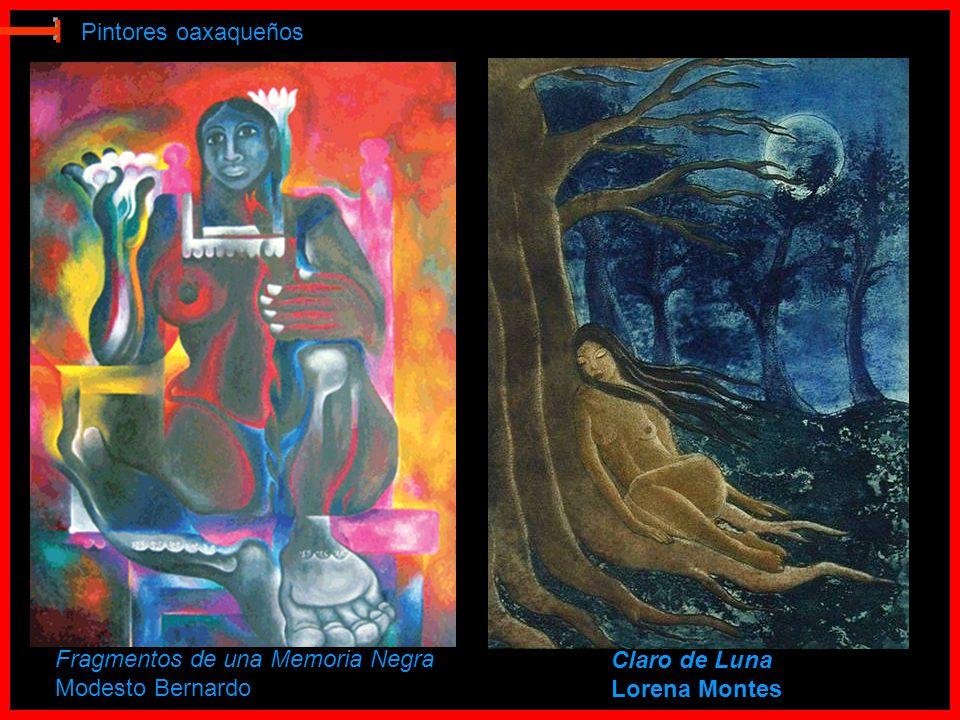 E Pintores oaxaqueños Fragmentos de una Memoria Negra