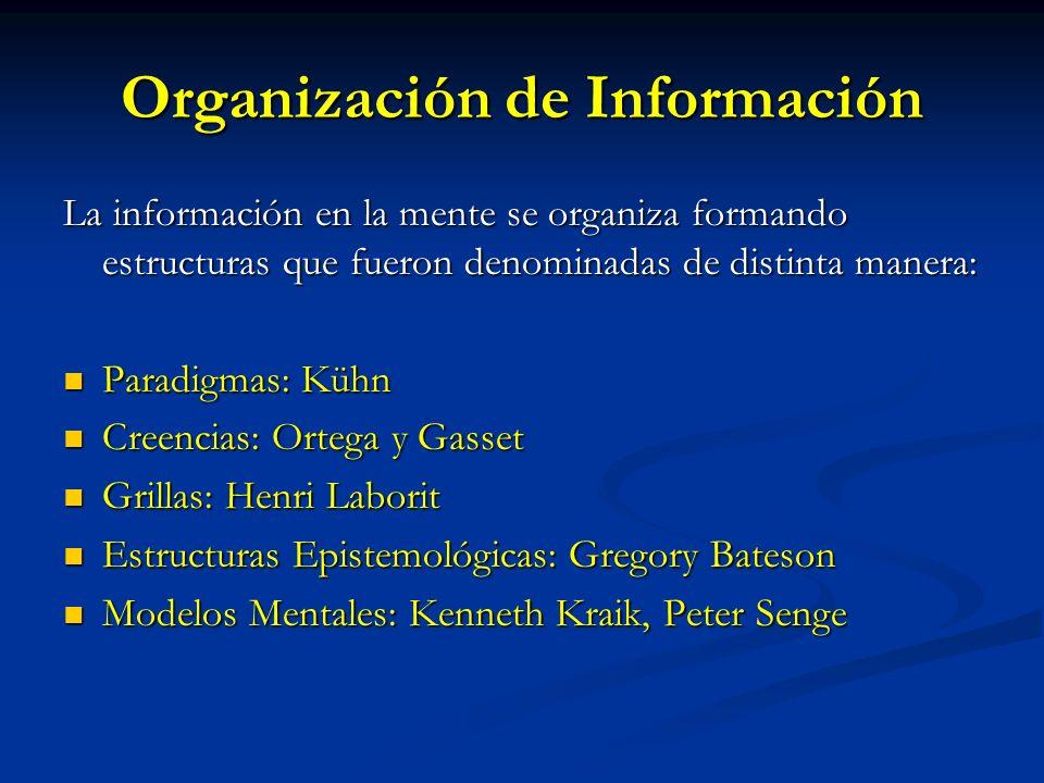 Organización de Información