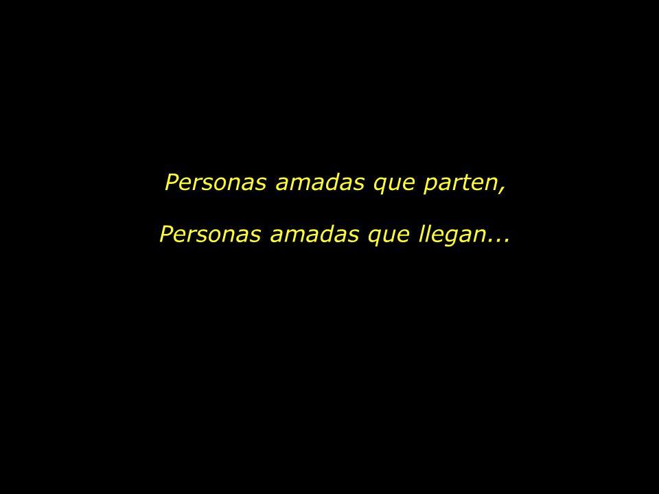 Personas amadas que parten,