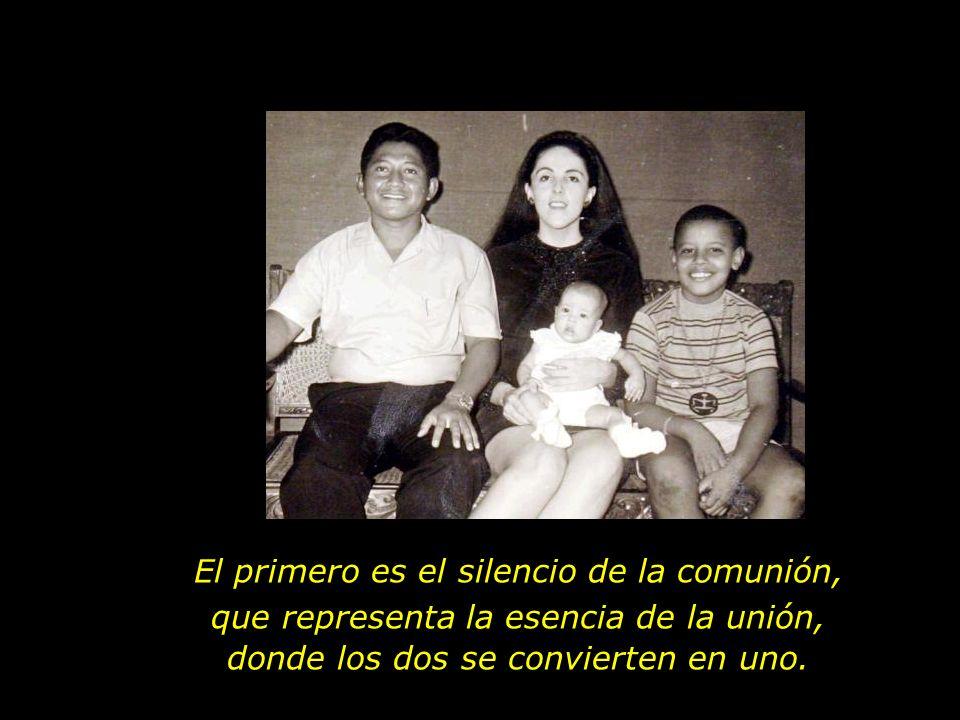El primero es el silencio de la comunión,