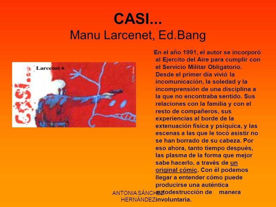 CASI... Manu Larcenet, Ed.Bang