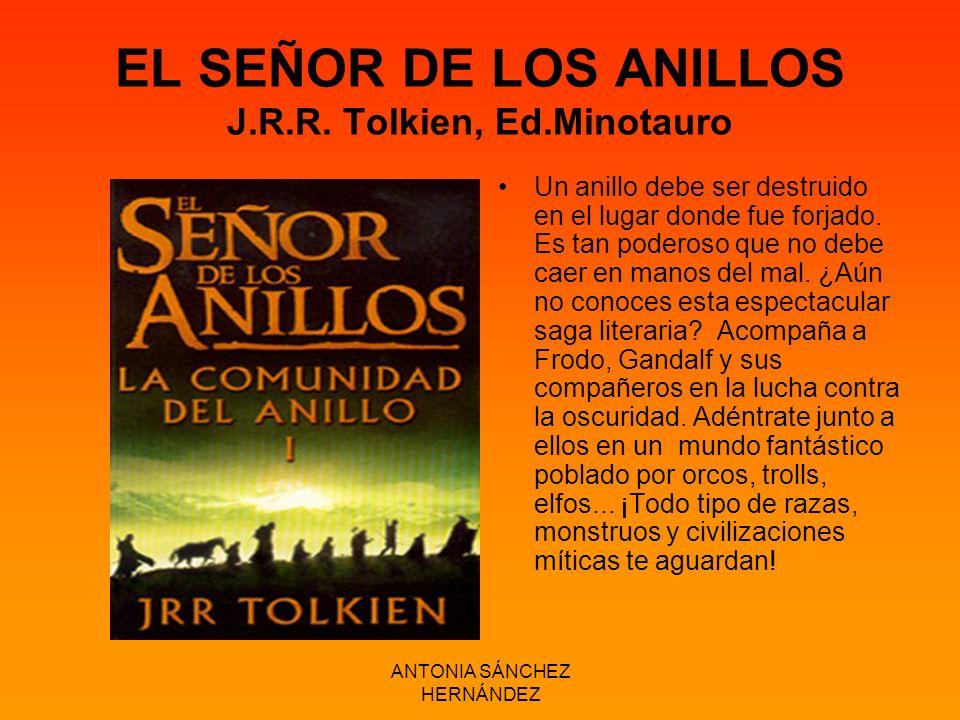 EL SEÑOR DE LOS ANILLOS J.R.R. Tolkien, Ed.Minotauro