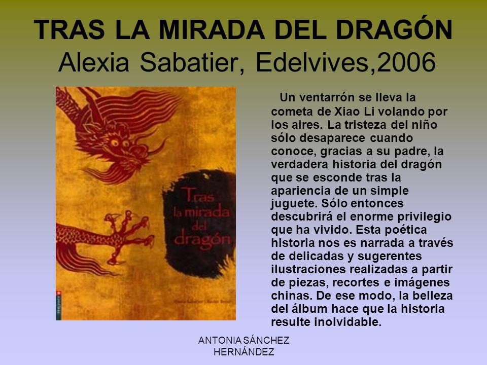 TRAS LA MIRADA DEL DRAGÓN Alexia Sabatier, Edelvives,2006