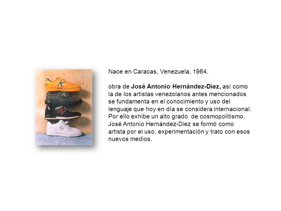 Nace en Caracas, Venezuela, 1964.
